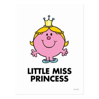 Petit arrière - plan de couronne de Mlle le Carte Postale