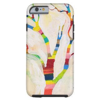 Petit art heureux de MaryLea Harris de cas de Coque Tough iPhone 6