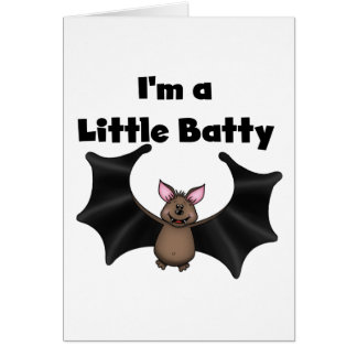 Petit Batty Carte De Vœux