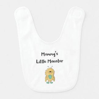 Petit bavoir de monstre de Mommys