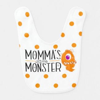 Petit bavoir du monstre de Momma