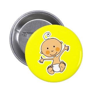 Petit bébé pin's avec agrafe