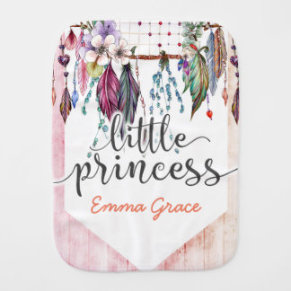 Petit bébé de princesse Boho Chic Dreamcatcher Linges De Bébé