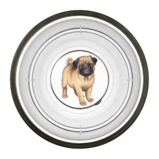 Petit bol amical d aliments pour chiens de carlin