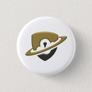 Petit bouton de Blackwood - or et noir Pin's