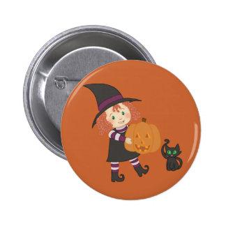 Petit bouton de sorcière pin's avec agrafe