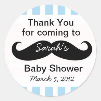 Petit cadeau d'autocollants de cadeau de baby sticker rond