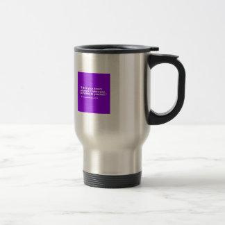 Petit cadeau de l'entrepreneur 119 - suivez le mug de voyage