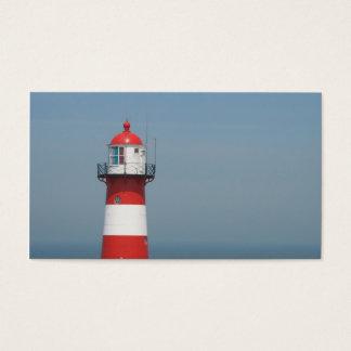 Petit carte photo de mer rayée blanche rouge de