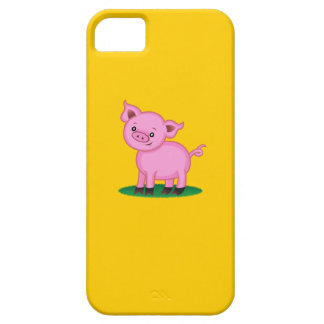 Petit cas mignon de l'iPhone 5 de porc Coque Barely There iPhone 5