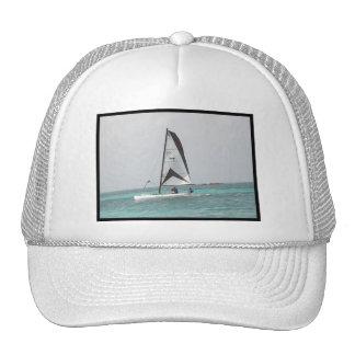 Petit casquette de baseball de voilier de catamara