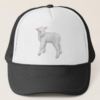 Petit casquette de camionneur d'agneau