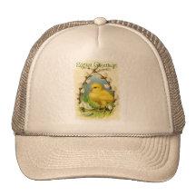 Petit chapeau de Pâques de poussin Casquette