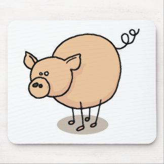 Petit cochon Gro-Gro Tapis De Souris