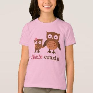 Petit cousin - T-shirts de hibou de mod pour des