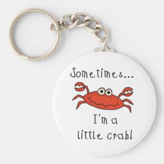 Petit crabe porte-clés