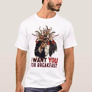 Petit déjeuner t-shirt
