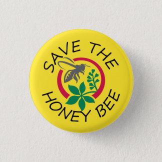 """Petit """"économies bouton de l'abeille de miel"""" badge"""