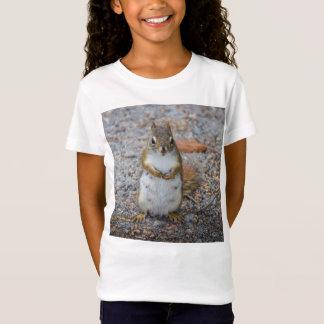 Petit écureuil debout drôle T-Shirt