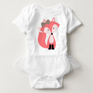 Petit Fox doux de rose T-shirt