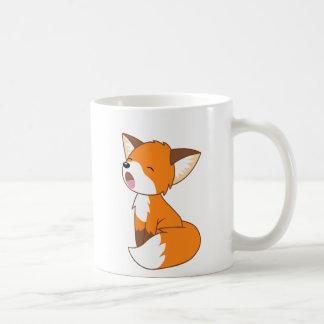 Petit Fox somnolent mignon Mug