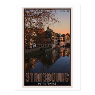 Petit France lever de soleil de Strasbourg - Cartes Postales