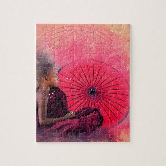 Petit garçon de Bouddha Puzzle