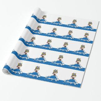 Petit garçon de Viking Papiers Cadeaux Noël