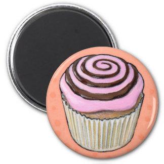 petit gâteau #46 aimant pour réfrigérateur
