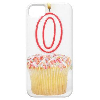 Petit gâteau avec une bougie numérotée étui iPhone 5