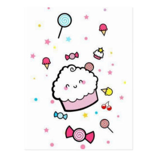 petit gâteau cartes postales