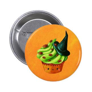 Petit gâteau de Halloween complètement des Badge