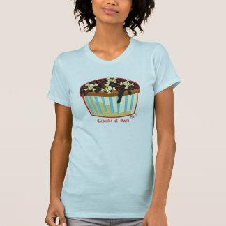 Petit gâteau de sort malheureux t-shirt
