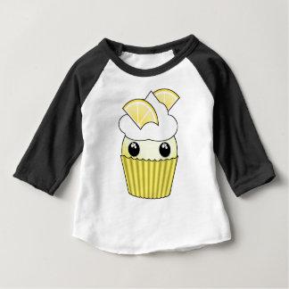 Petit gâteau mignon de citron de Kawaii - par T-shirt Pour Bébé