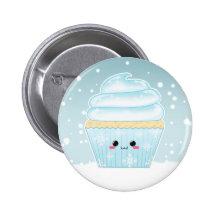 Petit gâteau mignon de flocon de neige de Noël de  Pin's