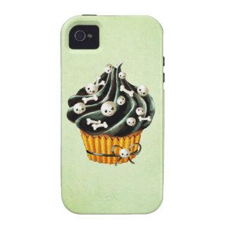 Petit gâteau noir de Halloween Coques Vibe iPhone 4