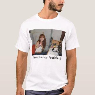Petit gâteau pour le président 2008 t-shirt