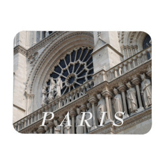 Petit groupe de Notre Dame Magnets Rectangulaires