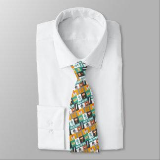 Petit iconique d'agent immobilier professionnel cravates