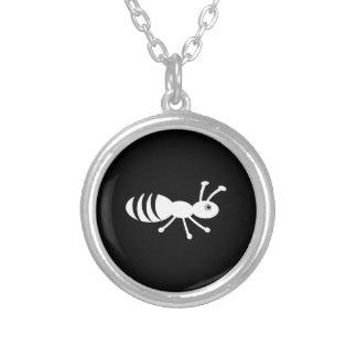 Petit insecte mignon collier
