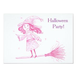 Petit invitation de partie de Halloween de
