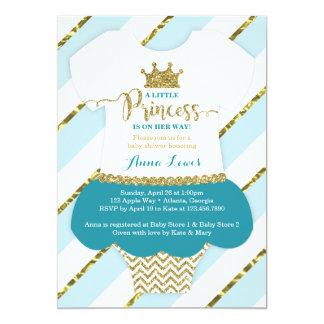 Petit invitation de princesse baby shower,
