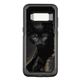 Petit Kitty noir Coque Samsung Galaxy S8 Par OtterBox Commuter