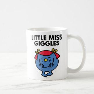 Petit lettrage noir de Mlle Giggles | Mug