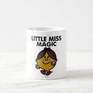Petit lettrage noir de Mlle Magic   Mug