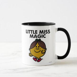 Petit lettrage noir de Mlle Magic   Tasse
