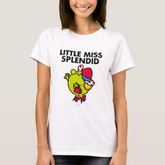 Petit lettrage noir de Mlle Splendid   T-shirt