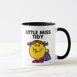 Petit lettrage noir de Mlle Tidy | Tasses