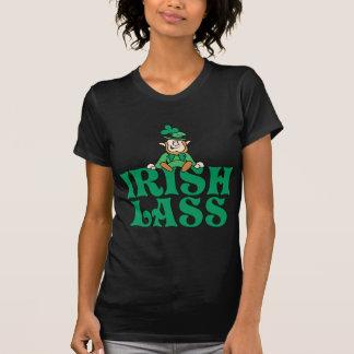 Petit lutin de jeune fille irlandaise t-shirt