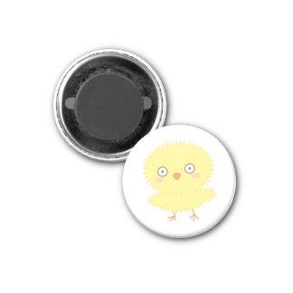 Petit magnet de Candi de poussin Magnet Carré 2,50 Cm